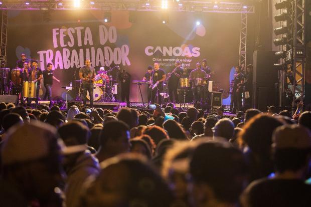 Festa do Trabalhador reúne 50 mil pessoas em Canoas Vinicius Thormann / divulgação/divulgação