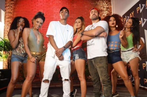 """VÍDEO: Kaysar participa de clipe de funkeiro conhecido pelo hit """"Automaticamente""""  MF Press Global / Divulgação/Divulgação"""