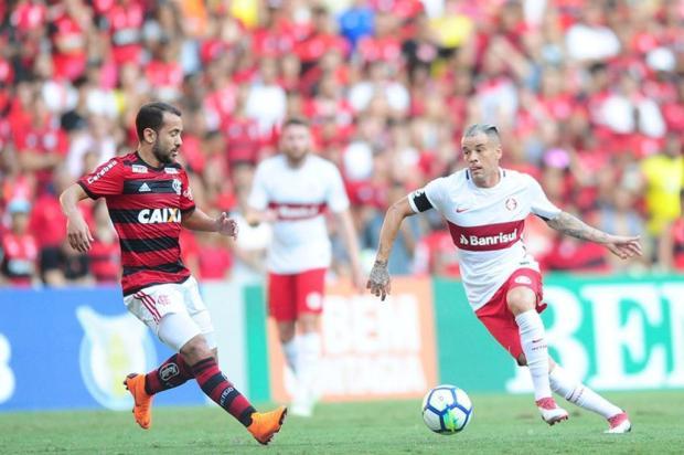 """Neto Fagundes: """"Vou dar um jeito de me acalmar com o Inter"""" Ricardo Duarte/Inter"""