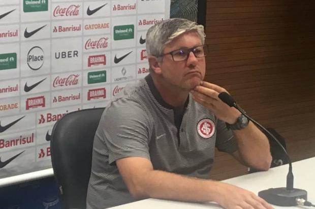 """Luciano Périco: """"Gre-Nal vai ser um divisor de águas para o Inter"""" Leonardo Acosta/ Agência RBS/"""