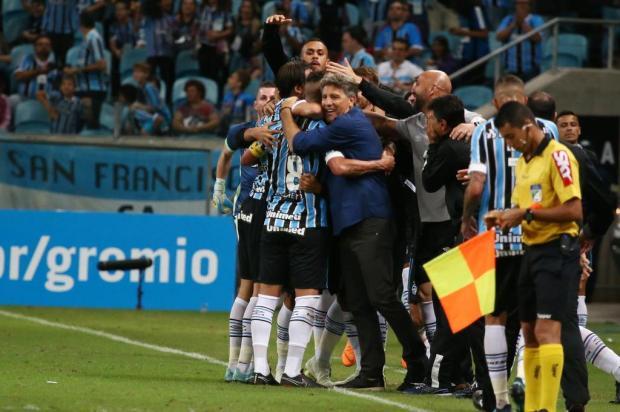 """Cacalo: """"Ninguém sabe o limite do Grêmio"""" Jefferson Botega/Agencia RBS"""