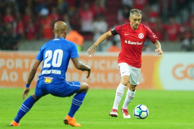 """Lelê Bortholacci: """"Ficou mais difícil para o Inter o jogo contra o Cruzeiro"""" Ricardo Duarte / Inter, Divulgação/Inter, Divulgação"""
