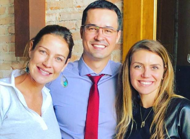Luana Piovani encontra Deltan Dallagnol para falar sobre política e operação Lava-Jato Instagram / Reprodução/Reprodução