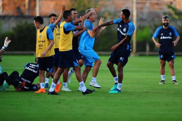 """Luciano Périco: """"Grêmio tem vantagem gigante contra o Goiás"""" Carlos Macedo/Agencia RBS"""