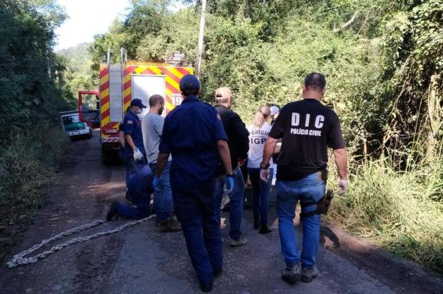 Homem é preso suspeito de estrangular e matar ex-companheira com fio de celular Polícia Civil/Divulgação