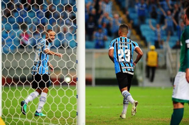 "Guerrinha: ""Deu a lógica na Arena do Grêmio"" Isadora Neumann/Agencia RBS"