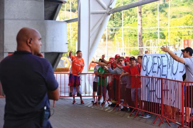 """Luciano Périco: """"Protesto da torcida só tumultua ambiente no Inter"""" Mateus Bruxel/Agencia RBS"""