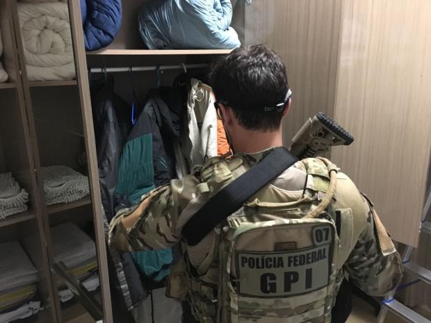 PF cumpre mandados em Santa Maria em ação contra racismo e terrorismo na internet Polícia Federal / Divulgação/Divulgação