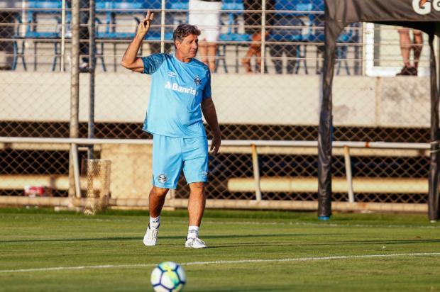 """Luciano Périco: """"Se Renato sair do Grêmio, será preciso dar um voto de confiança ao novo técnico"""" Lucas Uebel / Grêmio/Divulgação/Grêmio/Divulgação"""