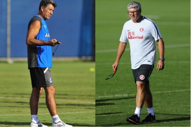 Luciano Périco: Grêmio teve sorte e Inter deu azar no sorteio da Copa do Brasil Montagem sobre fotos / Agência RBS/Agência RBS
