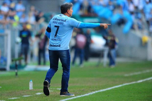 """Cacalo: """"Renato saberá ultrapassar esta dificuldade"""" Carlos Macedo/Agencia RBS"""