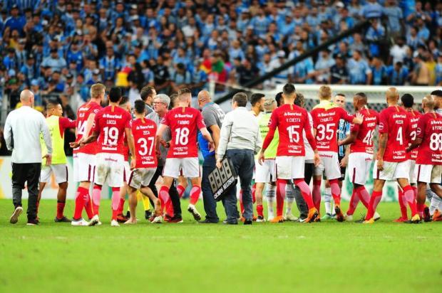 """Neto Fagundes: """"Para mim, confesso, ficou bom o 0 a 0"""" Carlos Macedo/Agencia RBS"""
