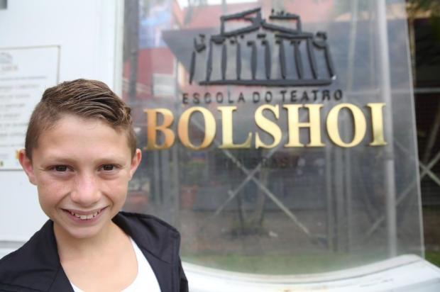 Brian vai dançar em Porto Alegre com a escola do Bolshoi Tadeu Vilani/Agencia RBS