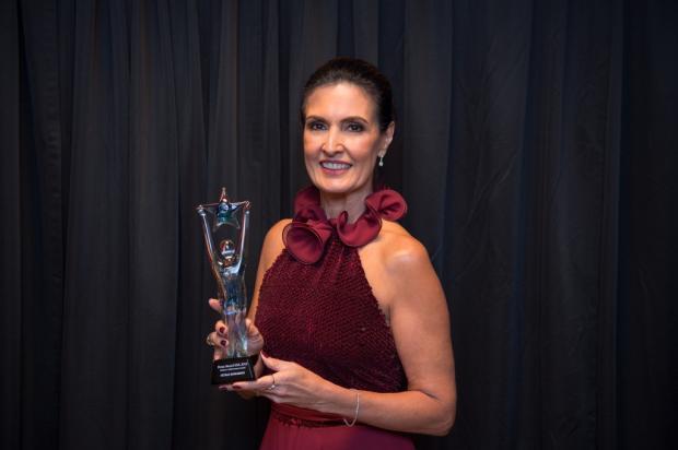 Fátima Bernardes recebe prêmio nos Estados Unidos por trajetória de sucesso na TV Fabiano Silva / Globo/ Divulgação/Globo/ Divulgação