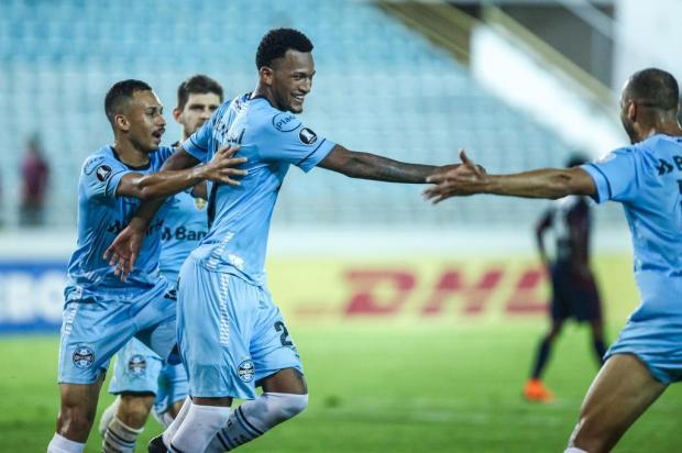 """Cacalo: """"Grandeza como a do Grêmio custa muito caro"""" LUCAS UEBEL/Grêmio"""