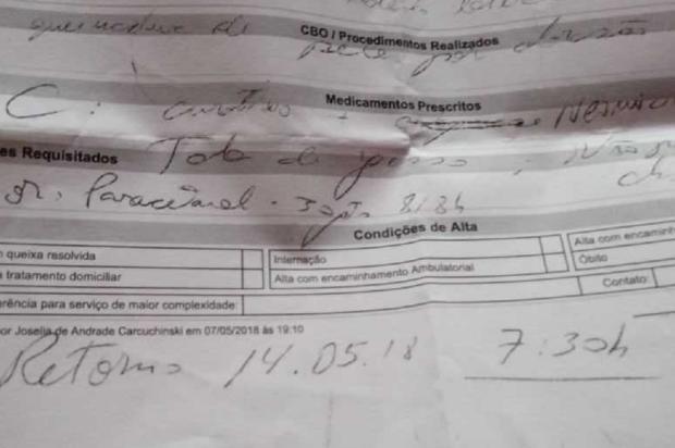 Pronto-Atendimento de Gravataí está há oito meses com máquina de raio X estragada Arquivo Pessoal / Leitor/DG/Leitor/DG
