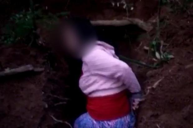 Jovem que teve execução gravada em vídeo é reconhecida pela família Reprodução/Reprodução