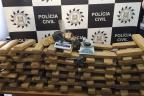 Polícia apreende mais de 100 kg de maconha em Rio Grande Divulgação / Polícia Civil/Polícia Civil