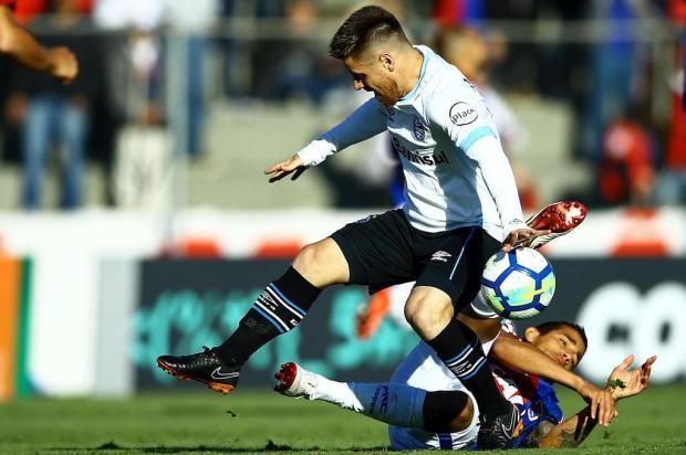 """Guerrinha: """"Mesmo com a cabeça no Tucumán, Grêmio é favorito contra o Paraná"""" HEULER ANDREY/DIA ESPORTIVO/ESTADÃO CONTEÚDO"""