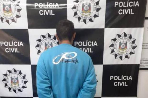 Preso suspeito de assalto em hipermercado que terminou com morte de dona de casa em Alvorada Polícia Civil/Divulgação