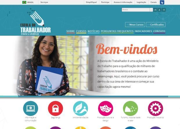 Escola do Trabalhador oferece 10 novos cursos online gratuitos /