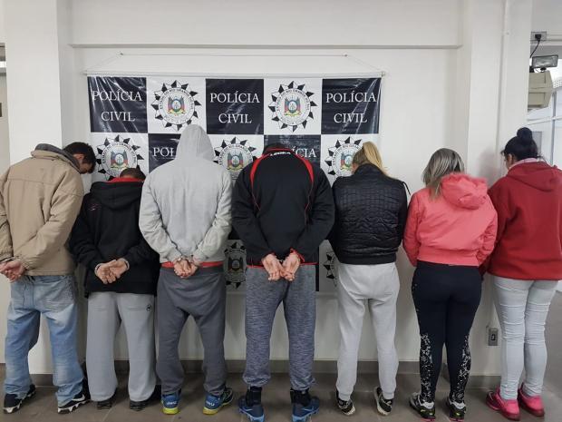 Sete pessoas são presas em operação contra tráfico de drogas em festas na Região Metropolitana Polícia Civil / Divulgação/Divulgação