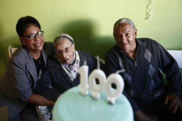 Tataravó Lorena comemora cem anos André Ávila/Agencia RBS