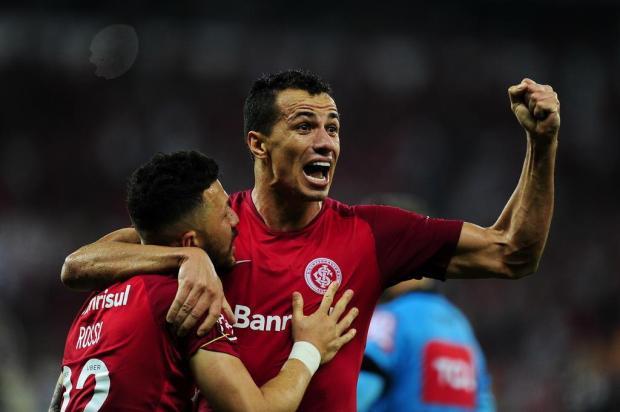 """Guerrinha: """"Vitória sobre o Corinthians aumenta otimismo no Beira-Rio"""" Mateus Bruxel/Agencia RBS"""