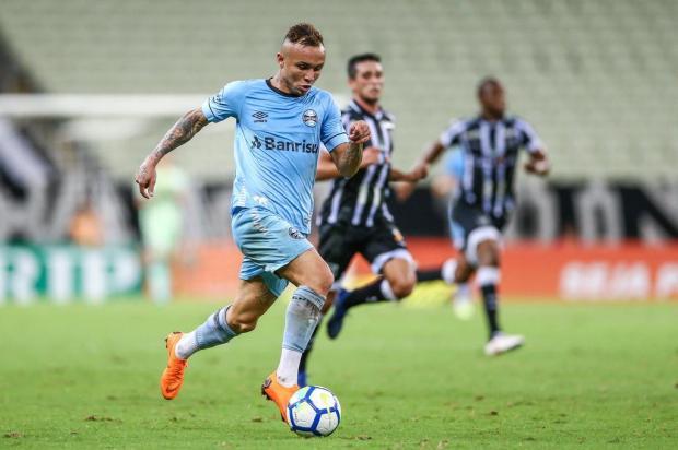 """Luciano Périco: """"Éverton é o melhor jogador do Grêmio em 2018"""" LUCAS UEBEL/Grêmio / Divulgação"""