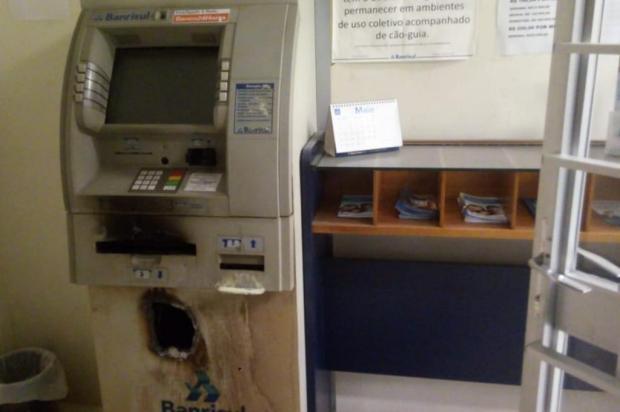 BM usa dois helicópteros em buscas a criminosos que atacaram posto bancário no Vale do Taquari Brigada Militar/Divulgação