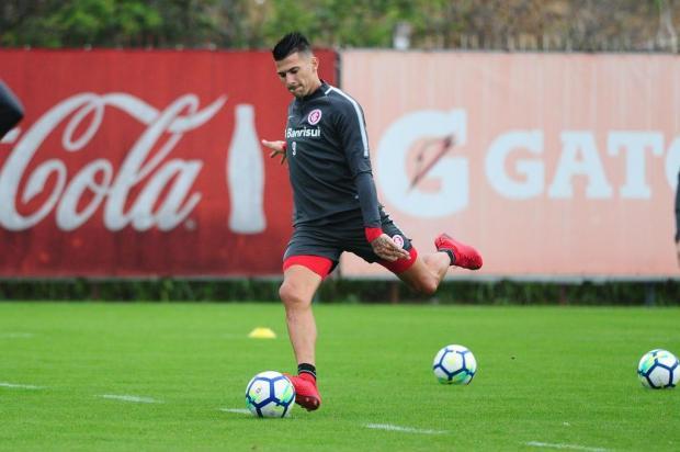 """Lelê Bortholacci: """"Me preocupa a possível perda de Cuesta para o jogo contra o Fluminense"""" Ricardo Duarte/Inter,Divulgação"""