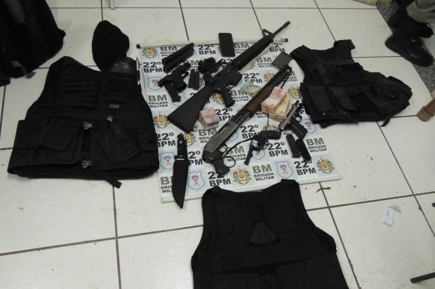 Preso por assalto a banco esteve entre os 10 criminosos mais procurados do RS Brigada Militar/Divulgação