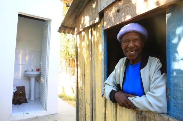 Banheiros são entregues à comunidade quilombola Cantão das Lombas Tadeu Vilani/Agencia RBS