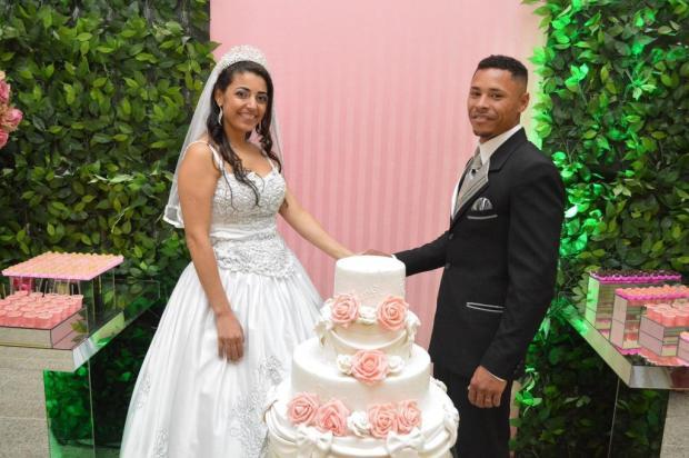 Após venderem trufas, noivos conseguem realizar sonho da festa de casamento Mário Marques/Divulgação