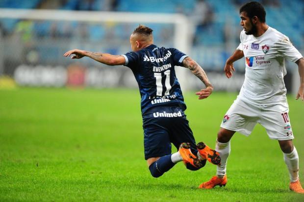 """Cacalo: """"Errar tantos gols é a única queixa que tenho"""" Carlos Macedo/Agencia RBS"""