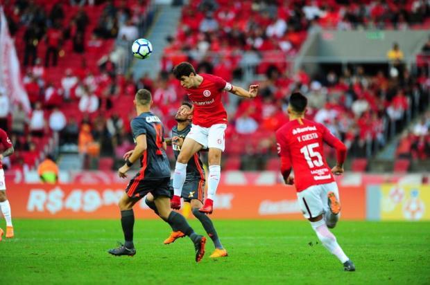 """Neto Fagundes: """"Ganhamos um ponto no jogo contra o Sport"""" Félix Zucco/Agência RBS"""
