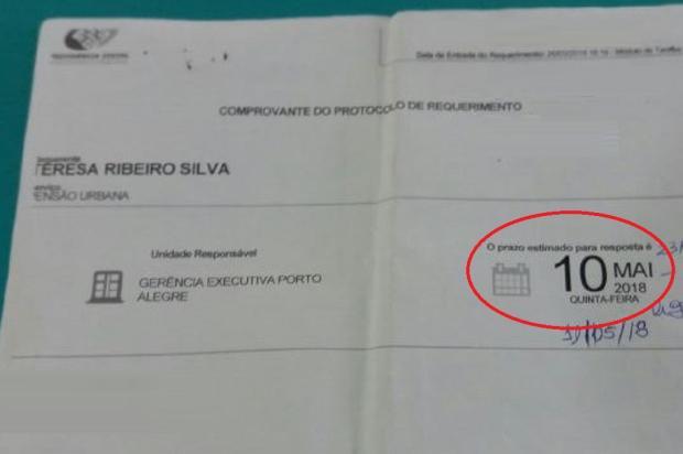 Família espera liberação de benefício do INSS desde fevereiro, em Porto Alegre Arquivo Pessoal / Leitor/DG/Leitor/DG