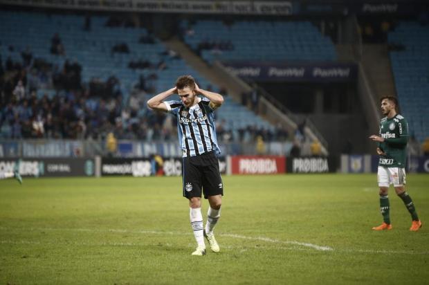 """Guerrinha: """"Tropeço do Grêmio contra o Palmeiras não estava nos planos"""" André Ávila/Agencia RBS"""