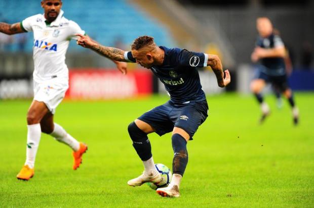 Guerrinha: Everton vai ser ausência sentida contra o Sport Tadeu Vilani/Agencia RBS
