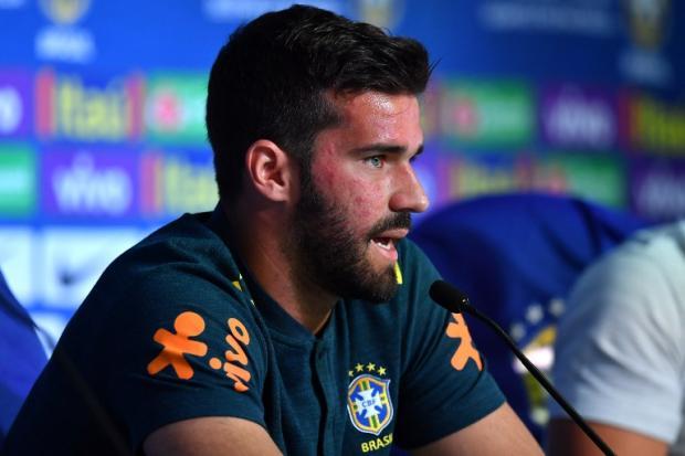 """Zé Alberto Andrade: """"Candidato a melhor goleiro do mundo"""" NELSON ALMEIDA / AFP/"""