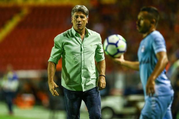 """Cacalo: """"Pausa da Copa será um alívio para o tricolor"""" LUCAS UEBEL/Divulgação / GREMIO FBPA"""