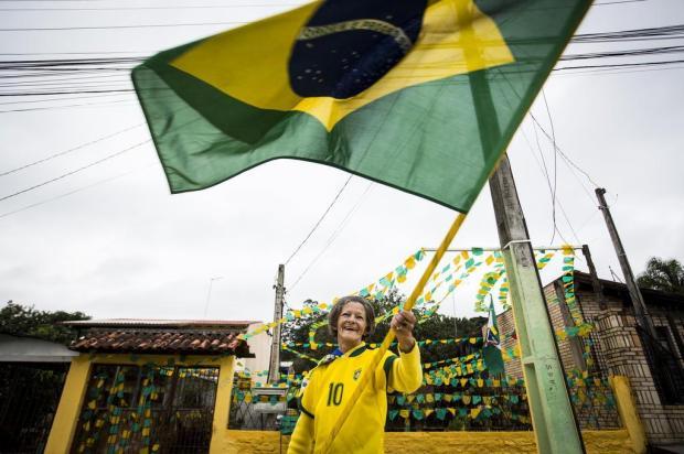Depois do trauma de 2014, torcedores estão prontos para o Brasil Mateus Bruxel/Agencia RBS