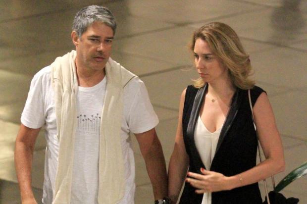 William Bonner vai se casar com a fisioterapeuta Natasha Dantas Thiago Martins/AgNews