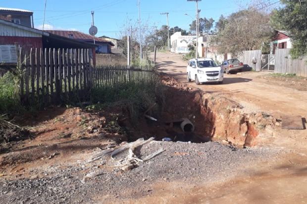 Conserto de rede pluvial em bairro de Alvorada já se estende por quatro meses Arquivo Pessoal / Leitor/DG/Leitor/DG