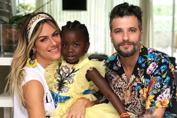 Giovanna Ewbank e Bruno Gagliasso comemoram aniversário de cinco anos da filha Titi Instagram/Reprodução