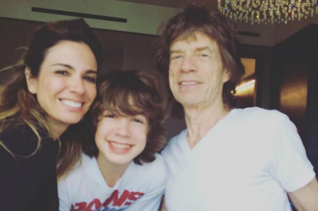 Luciana Gimenez posta foto com Mick Jagger e fãs culpam cantor pelo empate do Brasil Reprodução / Instagram/Instagram