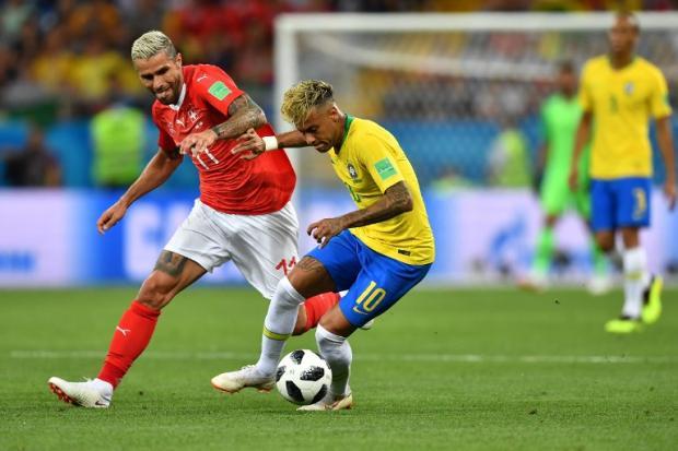 """Zé Alberto Andrade: """"Sem Neymar, não há caminho para o hexa aqui na Rússia"""" JOE KLAMAR / AFP/"""
