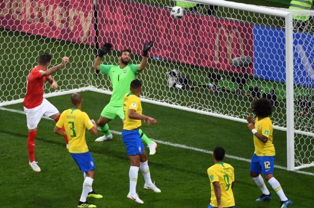 """Cacalo: """"Que a seleção aprenda com a atuação horrível contra a Suíça"""" KHALED DESOUKI/AFP"""