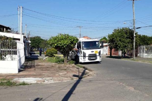 Rede de esgoto recebe conserto após reportagem do Diário, em Porto Alegre Arquivo Pessoal / Leitor/DG/Leitor/DG