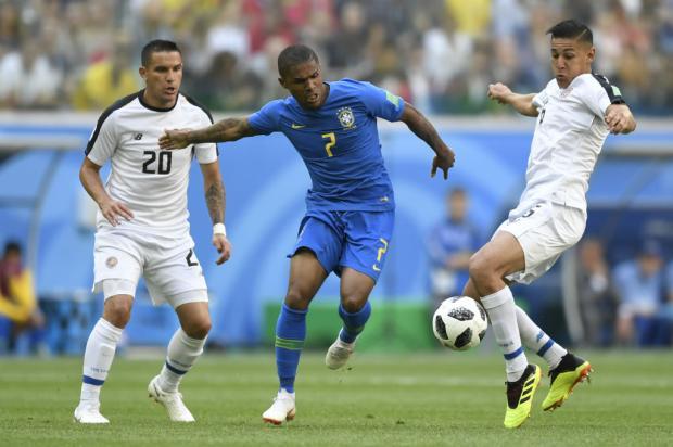 """Luciano Périco: """"Brasil passou um sufoco contra a Costa Rica"""" Gabriel Bouys / AFP/AFP"""